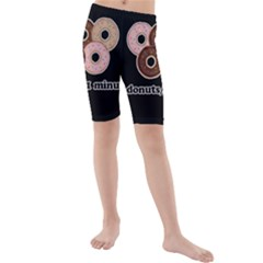 Five donuts in one minute  Kids  Mid Length Swim Shorts