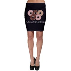 Five donuts in one minute  Bodycon Skirt
