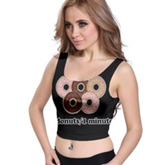 Five donuts in one minute  Crop Top