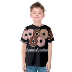Five donuts in one minute  Kids  Cotton Tee