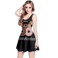Five donuts in one minute  Reversible Sleeveless Dress