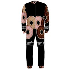 Five donuts in one minute  OnePiece Jumpsuit (Men)