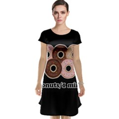 Five donuts in one minute  Cap Sleeve Nightdress