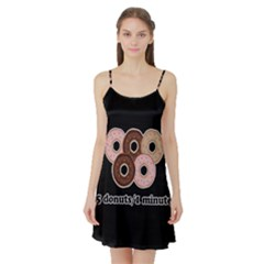 Five donuts in one minute  Satin Night Slip