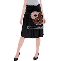 Five donuts in one minute  Midi Beach Skirt