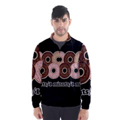 Five donuts in one minute  Wind Breaker (Men)