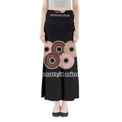 Five donuts in one minute  Maxi Skirts