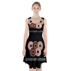 Five donuts in one minute  Racerback Midi Dress