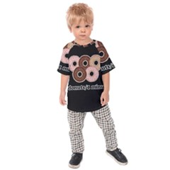 Five donuts in one minute  Kids  Raglan Tee