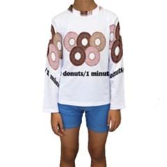 852 Kids  Long Sleeve Swimwear