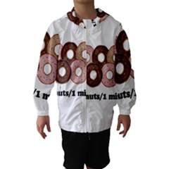 852 Hooded Wind Breaker (Kids)
