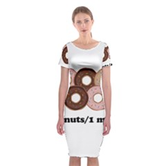 852 Classic Short Sleeve Midi Dress