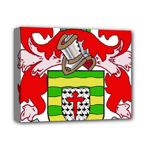 County Donegal Coat of Arms Deluxe Canvas 14  x 11