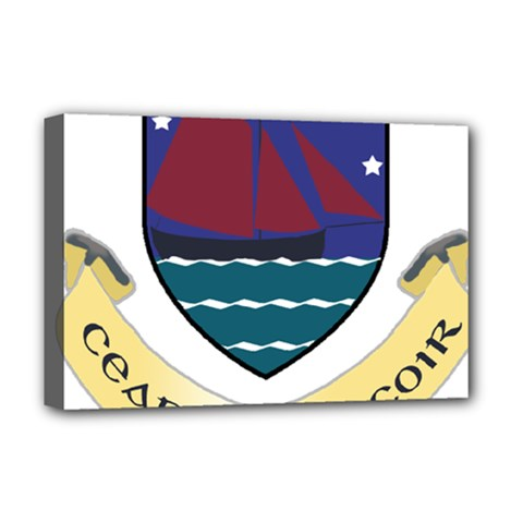 Coat of Arms of County Galway  Deluxe Canvas 18  x 12