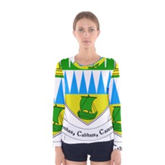 Coat of Arms of County Kerry  Women s Long Sleeve Tee