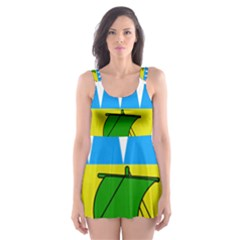 Coat of Arms of County Kerry  Skater Dress Swimsuit
