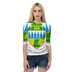 Coat Of Arms Of County Kerry Quarter Sleeve Tee