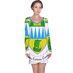 Coat of Arms of County Kerry Long Sleeve Nightdress