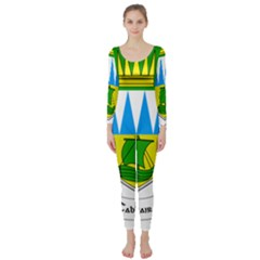 Coat of Arms of County Kerry Long Sleeve Catsuit