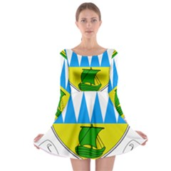 Coat Of Arms Of County Kerry Long Sleeve Skater Dress