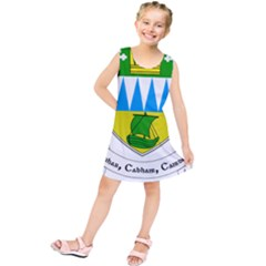 Coat of Arms of County Kerry Kids  Tunic Dress