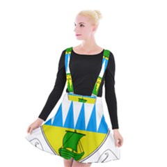 Coat Of Arms Of County Kerry Suspender Skater Skirt