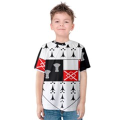 County Kilkenny Coat of Arms Kids  Cotton Tee
