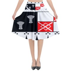 County Kilkenny Coat Of Arms Flared Midi Skirt