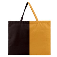 Flag of County Kilkenny Zipper Large Tote Bag