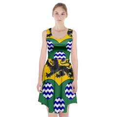 County Leitrim Coat of Arms Racerback Midi Dress
