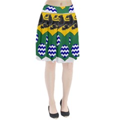 County Leitrim Coat of Arms Pleated Skirt