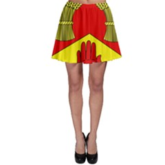 County Londonderry Coat of Arms Skater Skirt
