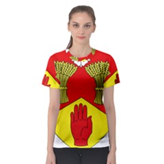 County Londonderry Coat of Arms Women s Sport Mesh Tee