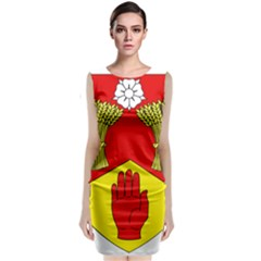 County Londonderry Coat of Arms Classic Sleeveless Midi Dress