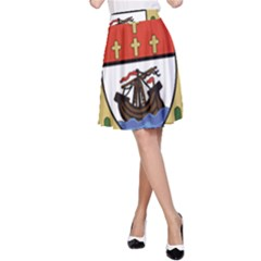 County Mayo Coat of Arms A-Line Skirt