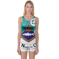 County Meath Coat of Arms One Piece Boyleg Swimsuit
