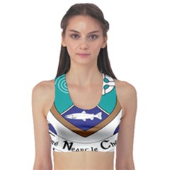 County Meath Coat of Arms Sports Bra
