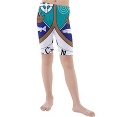 County Meath Coat of Arms Kids  Mid Length Swim Shorts
