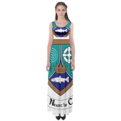 County Meath Coat of Arms Empire Waist Maxi Dress