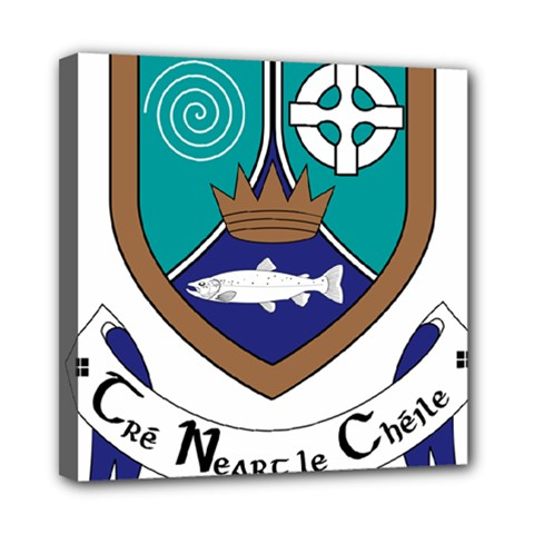County Meath Coat of Arms Mini Canvas 8  x 8