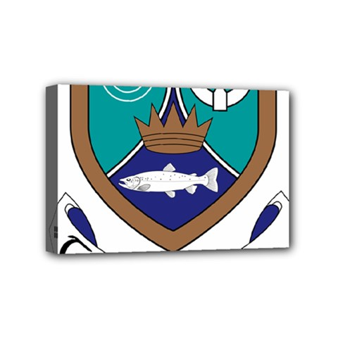 County Meath Coat of Arms Mini Canvas 6  x 4