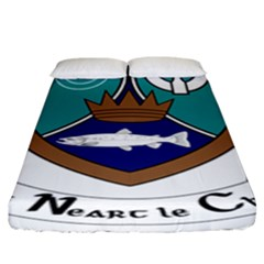 County Meath Coat of Arms Fitted Sheet (King Size)