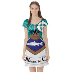 County Meath Coat of Arms Short Sleeve Skater Dress