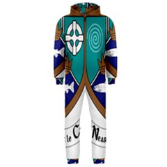 County Meath Coat of Arms Hooded Jumpsuit (Men)
