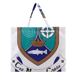 County Meath Coat of Arms Zipper Large Tote Bag