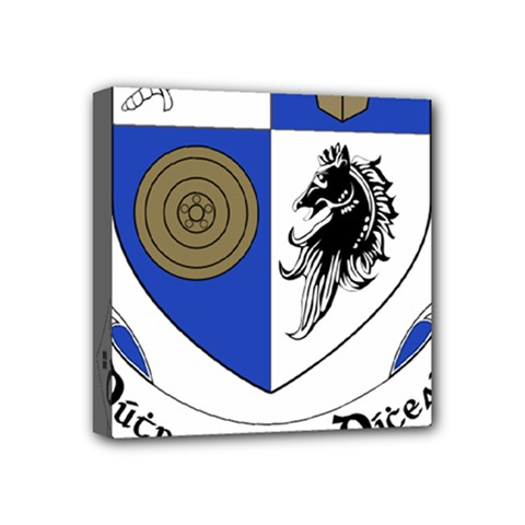 County Monaghan Coat of Arms  Mini Canvas 4  x 4