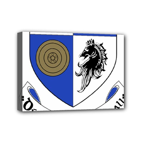 County Monaghan Coat of Arms  Mini Canvas 7  x 5
