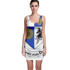 County Monaghan Coat of Arms  Sleeveless Bodycon Dress