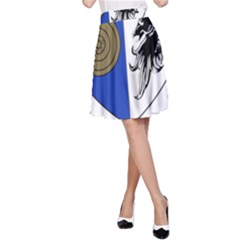 County Monaghan Coat of Arms  A-Line Skirt