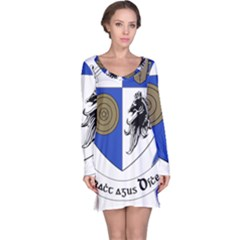 County Monaghan Coat of Arms  Long Sleeve Nightdress